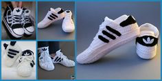 If you love sports, and are really eager to run around, then this Crochet Adidas Sneakers is the project for you. Say hello to the crochet adidas sneaker ! These sneakers will be perfect for you if you you love running around, and if you don't, there's a high chance that someone in your family does!