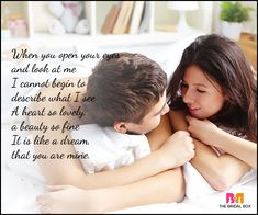 Good morning love poems are possibly the most sappy way to wake up your lover, but they work like a charm. These 10 good morning love poems do the trick. Good Morning Poems, Good Morning My Love, Love Poems, Love Quotes, Love Message For Girlfriend, Feeling Loved Quotes, Ways To Wake Up, Love My Husband, Light Of Life