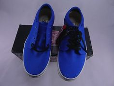 VANS 106 Vulcanized Mens Royal Blue VN-0NJN5UP Size 8/ 10