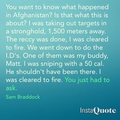 Flashpoint ~ S1E3: The Element of Surprise ~ Sam Braddock quote