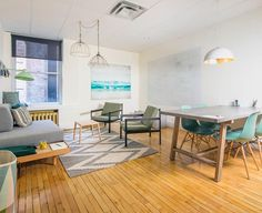 Rent meeting space at 353 Rue St-Nicolas, Floor, Suite 316 daily or hourly with Breather. Book office space in Old Montreal. Make Business, Business Travel, Business News, Small Business Management, Paris At Night, Architecture, Dining Table, Flooring, Interior Design