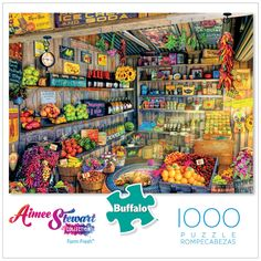 Since Buffalo Games has produced extraordinary jigsaw puzzles and party games right here in the USA. Shop for jigsaw puzzles and games online! Puzzle Shop, Buffalo Games, Delicious Fruit, Poster Making, Photo Manipulation, Online Games, Party Games, 1000 Piece Jigsaw Puzzles, Stuffed Peppers