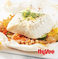 Halibut en Papillote. Funny name. Delicious recipe.