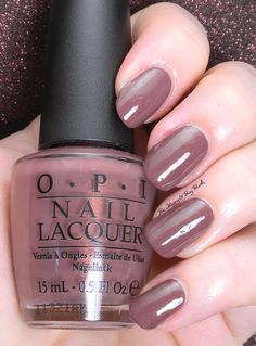 OPI Wooden Shoe Like To Know | Be Happy And Buy Polish http://behappyandbuypolish.com/2015/07/08/reswatch-wednesday-opi-wooden-shoe-like-to-know/