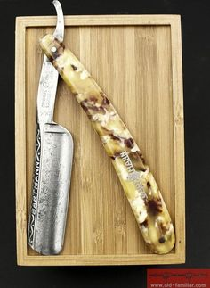 Bartmann No504  Rasiermesser ,straight razor, coupe choux,