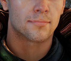 That lip scar though