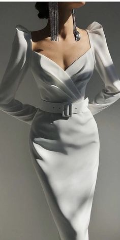 Elegant Outfit, Classy Dress, Classy Outfits, Suit Fashion, High Fashion, Fashion Dresses, Pretty Dresses, Beautiful Dresses, Elegant Dresses For Women
