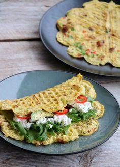 Egg Recipes, Brunch Recipes, Breakfast Recipes, Healthy Recipes, Healthy Breakfasts, Breakfast Ideas, Breakfast Omelette, Breakfast Casserole, Food Porn