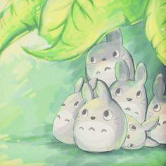 Awww:)) #studioghibli #myneighbortotoro #myneighbourtotoro #hayaomiyazaki #ghibli