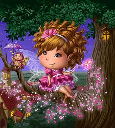 0_facc4_16a1fd67_orig (439x489, 361Kb) Baby Fairy, Love Fairy, Cartoon Drawings, Cute Drawings, Fairy Wallpaper, Colorful Skulls, Baby Painting, Puzzle Art, Fairy Princesses