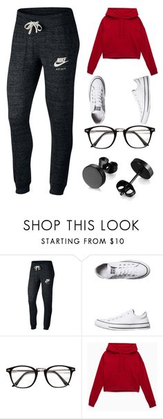 """""""Untitled #109"""" by kimmie-aiken on Polyvore featuring NIKE and Converse Lazy Day Outfits, Hot Outfits, Dance Outfits, Outfits For Teens, Fashion Outfits, Womens Fashion, Outfits With Converse, Workout Outfits, Lazy Days"""