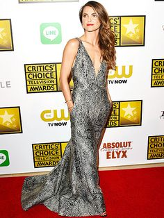 Star Tracks: Friday, June 20, 2014 | AWARD-WORTHY | Keri Russell goes glam while working the red carpet at the Critics' Choice Television Awards, where she was nominated for best actress in a drama series for The Americans.