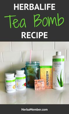 Learn the benefits of drinking an Herbalife Tea Bomb, a low-calorie drink that will help give you a boost of energy when you need it the most! Click through to get the Herbalife Tea Bomb recipe! #herbaliferecipe #herbaliferecipes #herbalifetea #herbaltea #boostmetabolism #fatburning