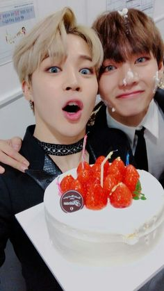 "TS's Jimin has revealed that V is preparing to release a new self-composed song! On January Jimin held a Naver V Live broadcast in his hotel room after BTS's concert in Singapore. Speaking about his fellow BTS member V, Jimin said, ""Didn'. Bts Vmin, Bts Twt, Kookie Bts, Kim Namjoon, Kim Taehyung, Bts Bangtan Boy, Jung Hoseok, Seokjin, Jimin Cute Selca"