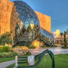11 Stunning Florida Towns You Need To Visit  f you tire of the beach, drive 30 minutes to St. Petersburg and check out the stunning Salvador Dali museum.