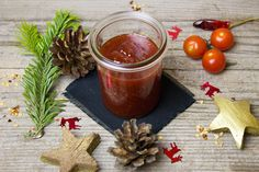 Delicious South African tomato jam for our saffas abroad. See, print and share more of your favourite SAFFA abroad recipes. Chilli Jam, Red Chilli, Indian Food Recipes, New Recipes, Healthy Recipes, Chili, Tolle Desserts, Tomato Jam, Fish Sauce