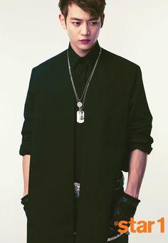 SHINee's Min Ho @Star1 Korea Magazine Vol.13 April Issue '13
