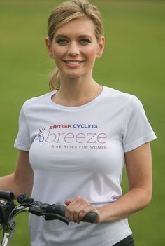 The very best cycling jerseys worldwide, made with Rapha's renowned designs and materials. Rachel Riley Bikini, Rachel Riley Legs, Racheal Riley, Female Cyclist, Bicycle Girl, Bicycle Women, Cycling Girls, Blond, Tv Presenters