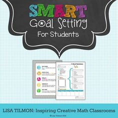 My middle school math students generally encounter a long list of obstacles! These obstacles tend to launch my students onto a rollercoaster of unpredictable results. A clear, stationary target is always easier to hit! And that is exactly why these 10 easy steps to help students set goals can steady the variables that threaten student success. Engage and support your students in SMART goal setting.