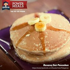 Banana and pancake kids will really like it.
