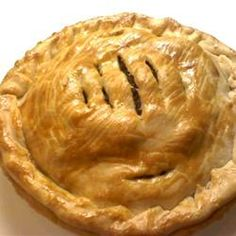"Meat Pie (Tourtiere) | ""French Canadian Tourtiere. Contains pork, potatoes, onions and spices."" — Maggie Rogers 	http://allrecipes.com/recipe/meat-pie-tourtiere/detail.aspx"