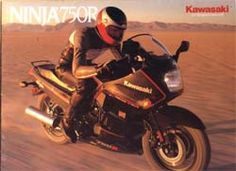 1987 Kawasaki Ninja 750R