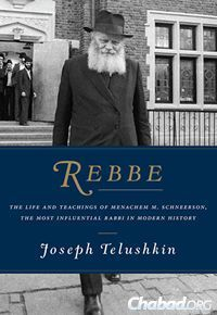 New Book on the Rebbe Hits Major Best-Seller Lists