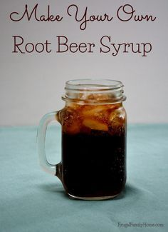 Summer is coming and what's better on a summer day than root beer. Make your own root beer syrup with this easy recipe.