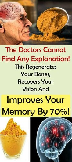 The Doctors Cannot Find Any Explanation! This Regenerates Your Bones, Recovers Your Vision And Improves Your Memory By 70%! #brain #fitness #beauty #girl #healthy