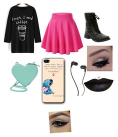 """Starbucks"" by becca-watson-1 ❤ liked on Polyvore featuring Christopher Kane, Skullcandy, women's clothing, women, female, woman, misses and juniors"