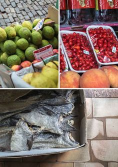 Some of the produce found at Garapinha in Ouro Preto, Brazil | heneedsfood.com