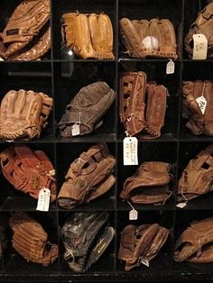 Fancy - baseball gloves