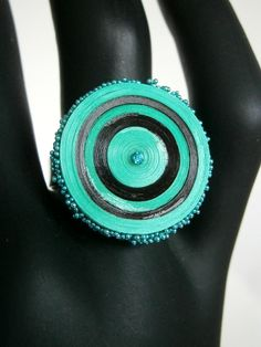 quilling ring (on ring base)