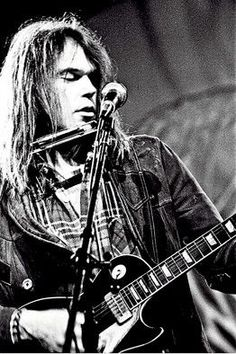 """Neil Young, around the mid-70s. It's so hard for me to pick a favorite song by him, especially considering there's so many great ones I haven't listened to...But, my favorite has to be """"Only Love Can Break Your Heart."""" Because, yeah, I can relate. Maybe not in a very deep way yet, but I can."""