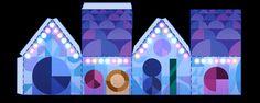 Boas festas! #GoogleDoodle