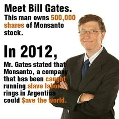 Image result for bill gates gmo