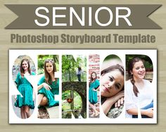 Photography Storyboard Template Grad Graduation By Supremerstudio