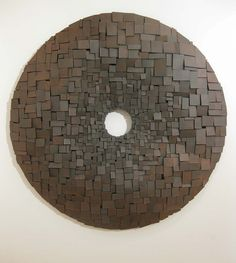 Jonathan Wade. Wall Piece no. 3 depth 7 cm, diameter 93 cm.