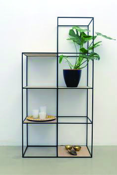 steel furniture Beautiful shelf built up symmetrically and made of fine steel and plywood Steel Furniture, Industrial Furniture, Rustic Furniture, Furniture Design, Modular Furniture, Furniture Assembly, Furniture Logo, Cheap Furniture, Kids Furniture