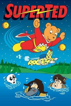 OMG! This was one of my favourite things when I was little! Super Ted