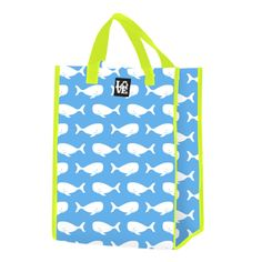 LOVE SACK - WHALE TALE. LOVE your planet! don't forget to use your LOVE reusable grocery bags.