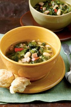 Turnip Greens Stew - Our 50 Healthiest Recipes of All Time - Southernliving. Recipe: Turnip Greens Stew  Get a healthy serving of greens and beans in this delicious and easy-to-prepare stew.