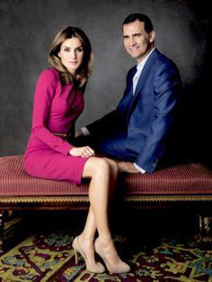 Royal engagement picture inspiration: Queen Letizia and King Felipe VI from Spain   | Inspiration für Verlobungsfotos von den Königshäusern: Königin Letizia und König Felipe VI von Spanien