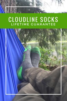 CloudLine socks are designed for adventure and backed by a hassle free lifetime guarantee. #hiking #bestsocksever #backpacking