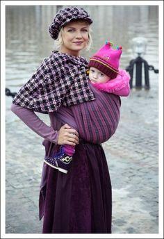 norwegian styles | Norwegian-style Mie Ellevill Wraparound Baby Carrier Discounts Apply !