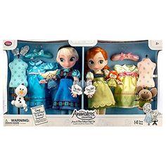 Disney Animators' Collection Anna and Elsa Dolls Deluxe Gift Set - Disney Barbie Dolls, Disney Princess Toys, Disney Animator Doll, Elsa And Anna Dolls, Anna Und Elsa, Collection Disney, Disney Animators Collection Dolls, Frozen Disney, Anna Frozen