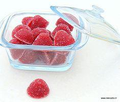 Pâtes de fruit framboise
