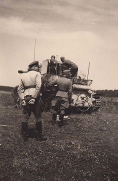 Dead bodies pose with soldiers