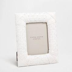 Plaited-Effect Frame - Frames - Decoration | Zara Home United Kingdom