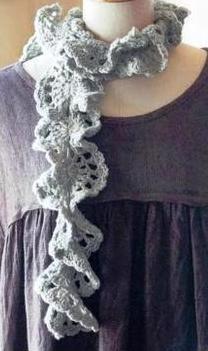 Patrón #563: Bufanda a Crochet #ctejidas http://blgs.co/FGc45c